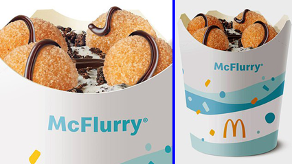 Macca's Donut Ball McFlurrys exist, and we need one ASAP