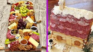 Charcuterie houses are the latest food trend, and we're unsure how to feel
