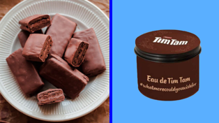 Arnotts just released a Tim Tam scented candle
