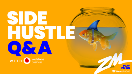 Side Hustle Q&A with Vodafone Business