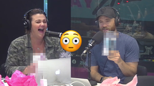 Fletch, Vaughan and Megan open X-Rated Christmas presents on air