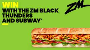 WIN Subway® with ZM's Black Thunders