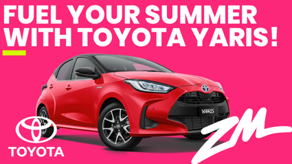TOYOTA Yaris is fuelling your Summer!