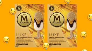 A 'Caramilk flavoured' Magnum exists just in time for Summer!