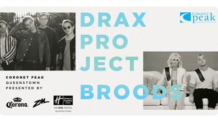 ZM & CORONA PRESENTS DRAX PROJECT & BROODS