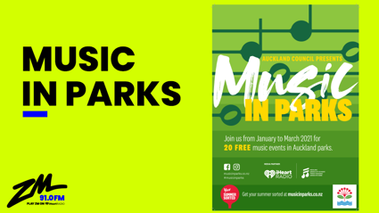 Auckland: Music In Parks 2021