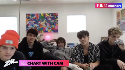 Cam chats to Why Don't We about their brand new album!
