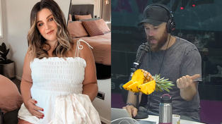 Fletch and Vaughan share tips to bring on Megan's Baby