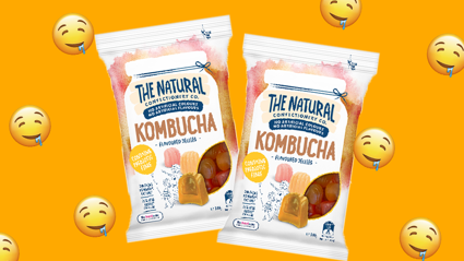 The Natural Confectionery Co. have created Kombucha lollies and we're excited!