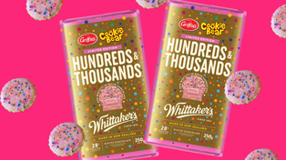 Whittaker's is bringing back their iconic Hundreds & Thousands chocolate!