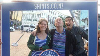 Wellington Saints Basketball Game Fame Frame Photos