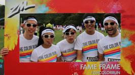 WELLINGTON - The Color Run Fame Frame Photos