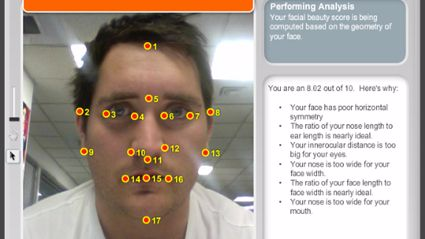 "How ""Hot"" Are You? Use Facial Recognition Analysis To Find Out"