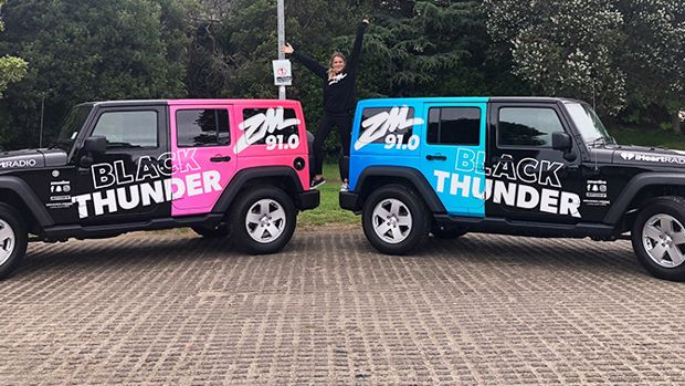 Catch the Black Thunders near you!