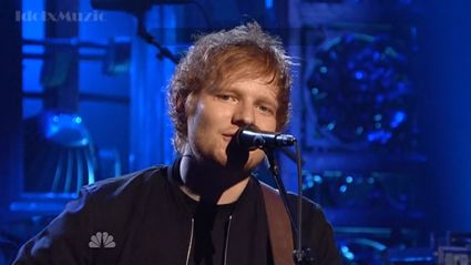 Ed performs his new song on SNL