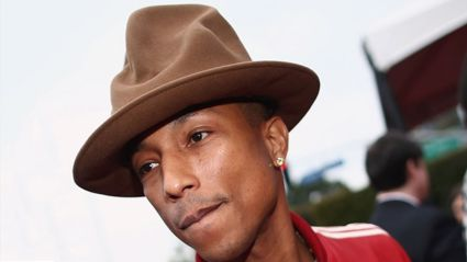 Pharrell takes his empire from music to books...
