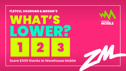 WIN $500 THANKS TO WAREHOUSE MOBILE!