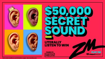 ZM's $50,000 Secret Sound Is BACK for Season 10!
