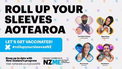 Roll Up Your Sleeves Aotearoa - let's get vaccinated!