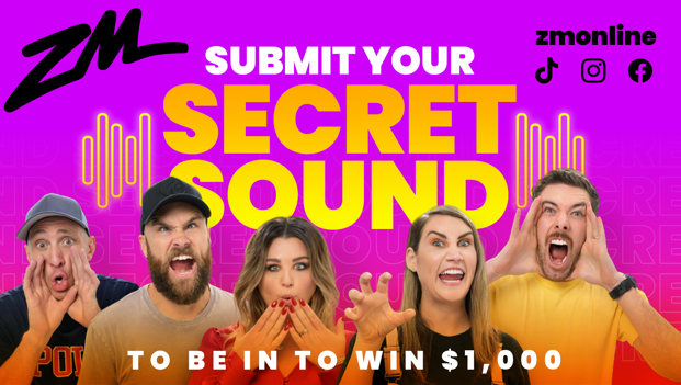 Submit Your Secret Sound To Be In To Win $1,000!